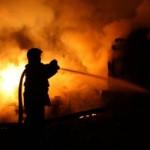 ночной пожар