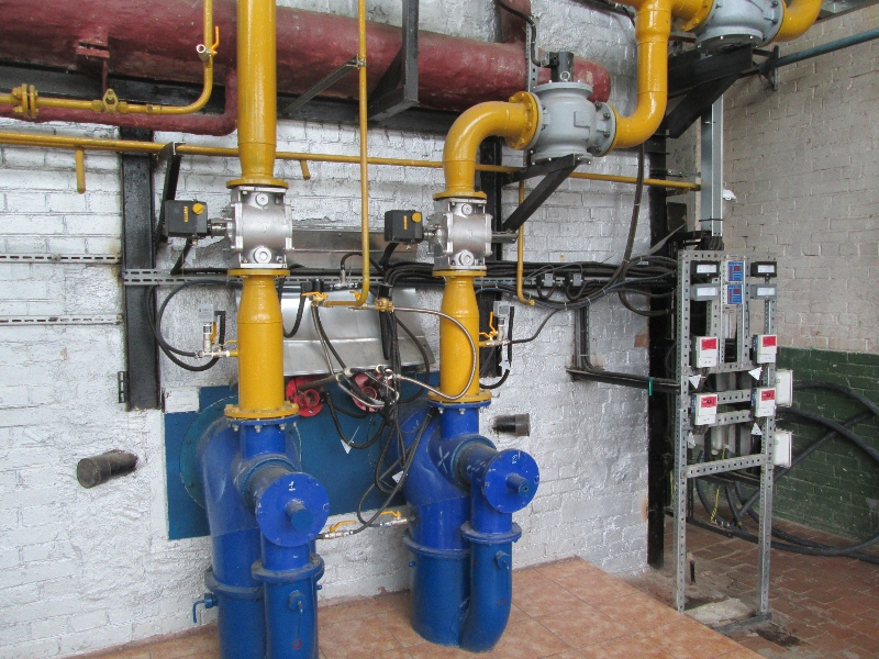 отключение газоснабжения котельной