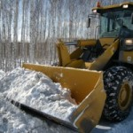 снег трактор