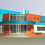 Так по проекту будет выглядеть плавательный бассейн в п. Аннино