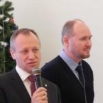 Глава нашего муниципального образования Игорь Кулаков и глава местной администрации Дмитрий Рытов