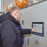 Почетное право запустить насосы станции в работу поручили главе администрации Дмитрию Вячеславовичу Рытову.