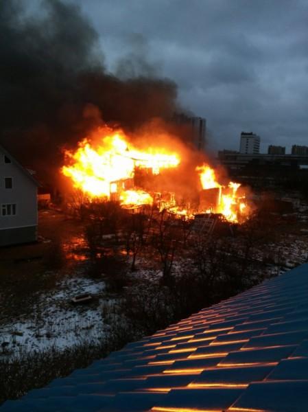 Пожар Цеховой